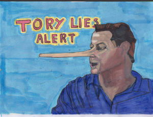 Tory Lies Drawing